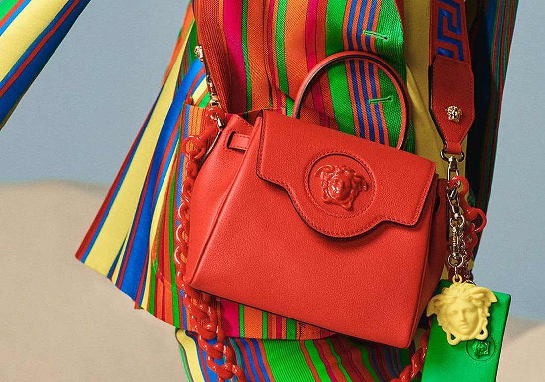 Versace presents the new La Medusa Accessories Line