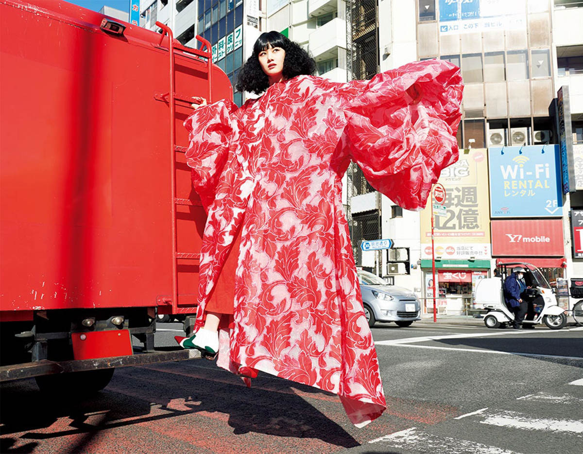 ''We Are Tokyo Style'' by Yasutomo Ebisu for Vogue Japan April 2021