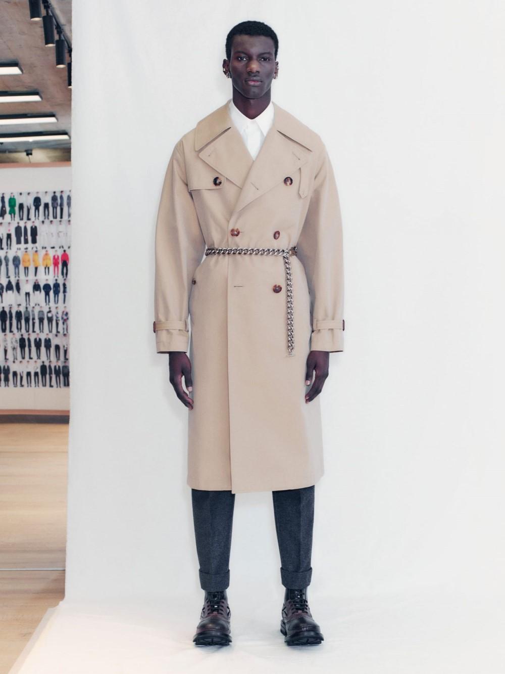 Alexander McQueen Men's Fall Winter 2021