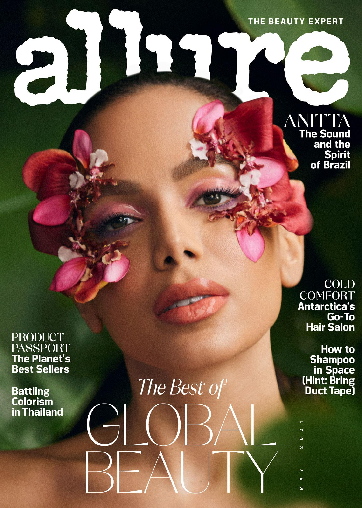Anitta covers Allure US May 2021 by Mariana Maltoni