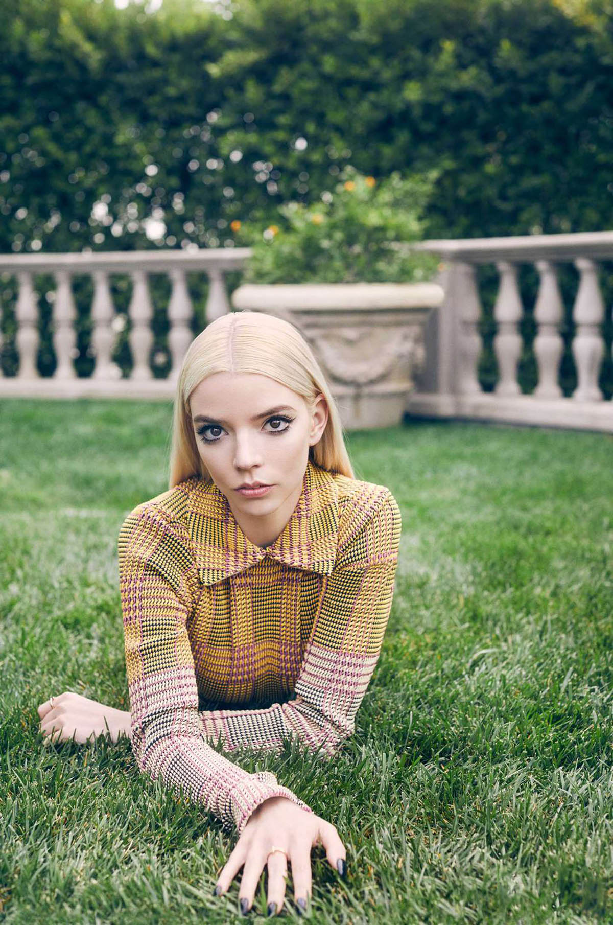 Anya Taylor-Joy covers Elle US May 2021 by Zoey Grossman