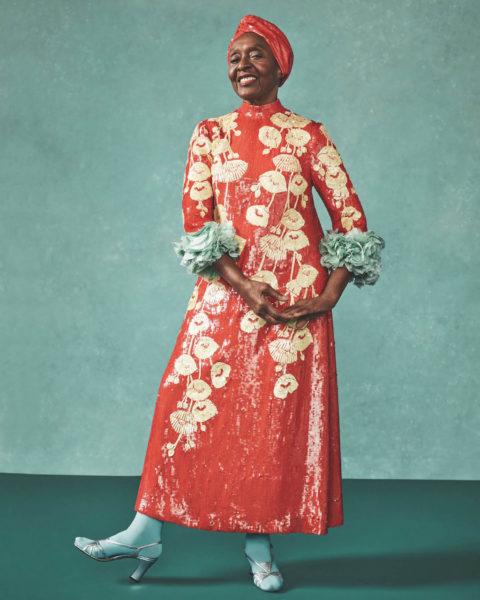Bethann Hardison by Sharif Hamza for British Vogue May 2021