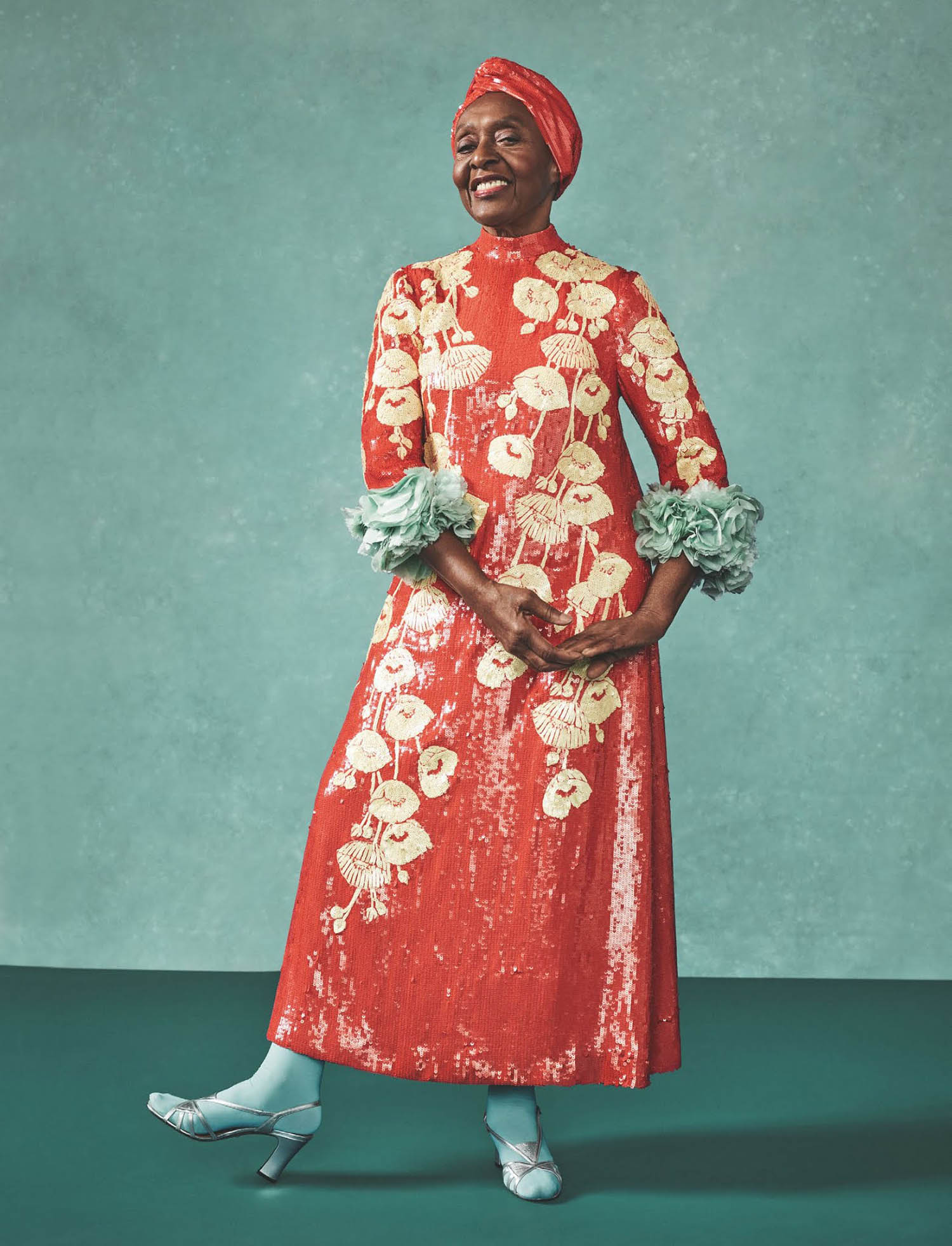 Bethann Hardison by Sharif Hamza for British Vogue May 2021