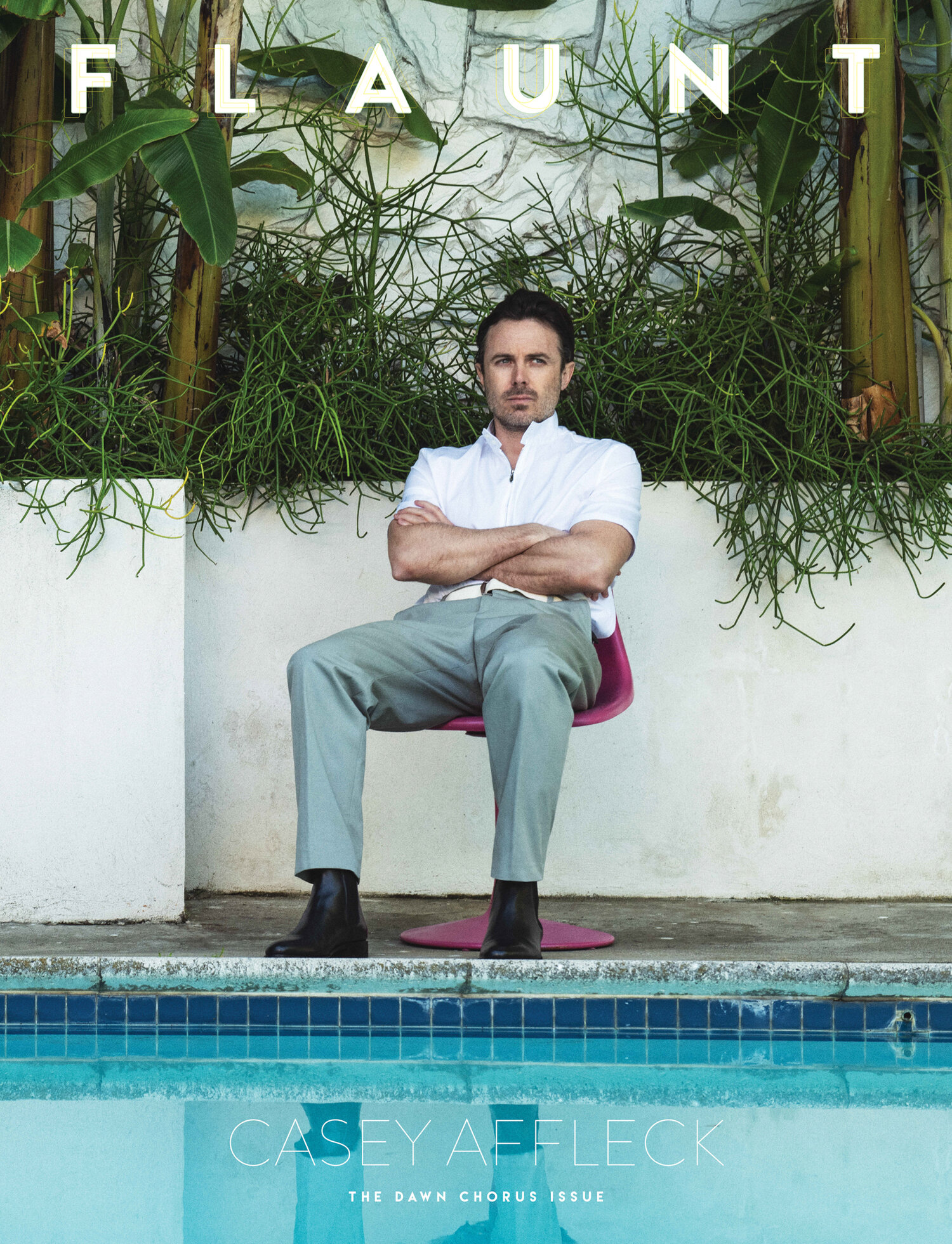 Casey Affleck covers Flaunt Magazine Issue 174 by Ian Morrison