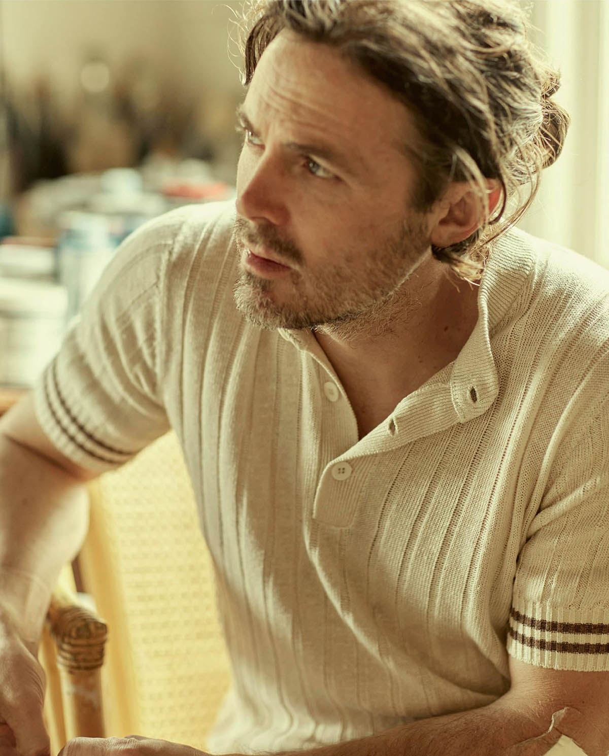Casey Affleck covers Icon Italia ''10th Anniversary Issue'' by Jenny Gage & Tom Betterton