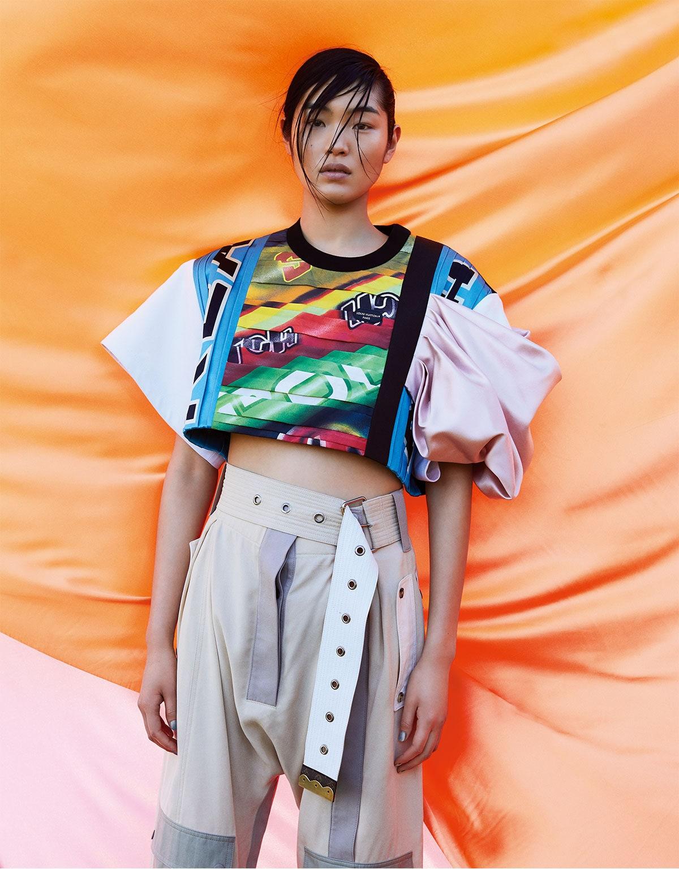 Chiharu Okunugi by Zoey Grossman for Vogue Japan May 2021