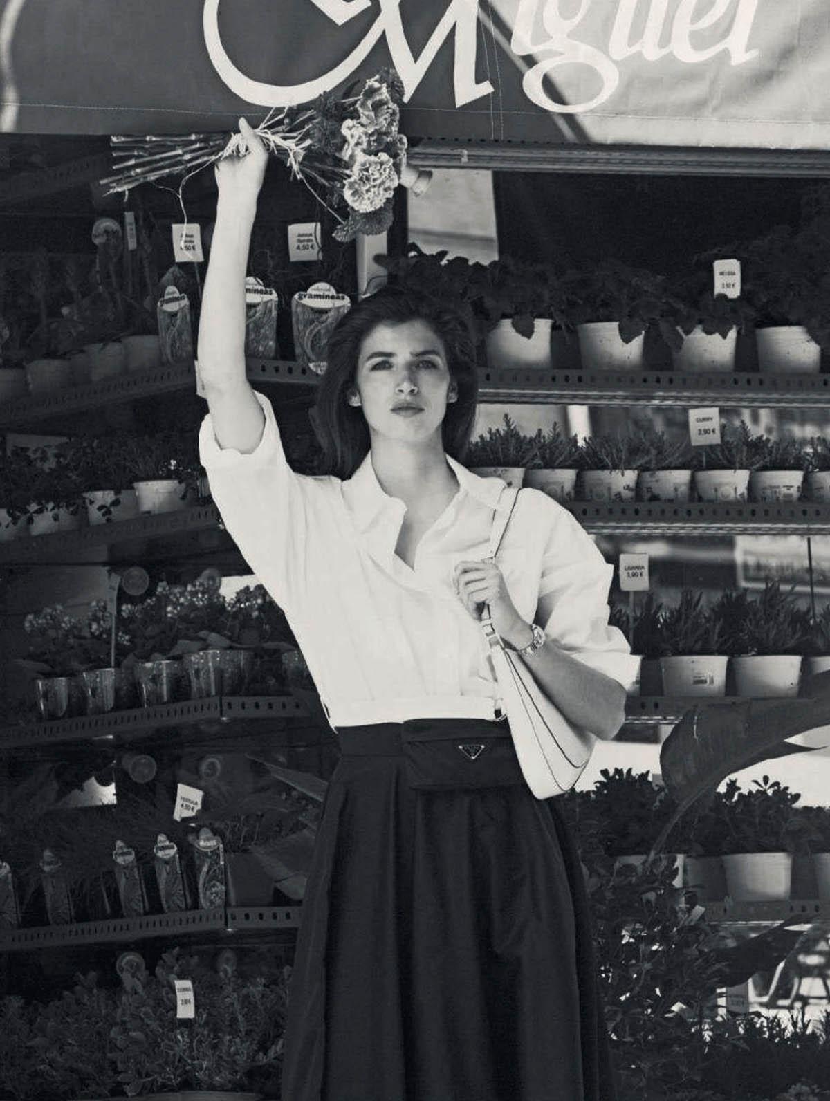 Eeva Lioni by Javier Biosca for Harper's Bazaar Spain May 2021
