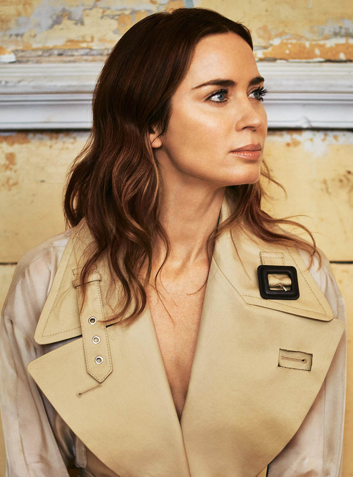 Emily Blunt covers The Sunday Times Style May 23rd, 2021 by Matt Easton
