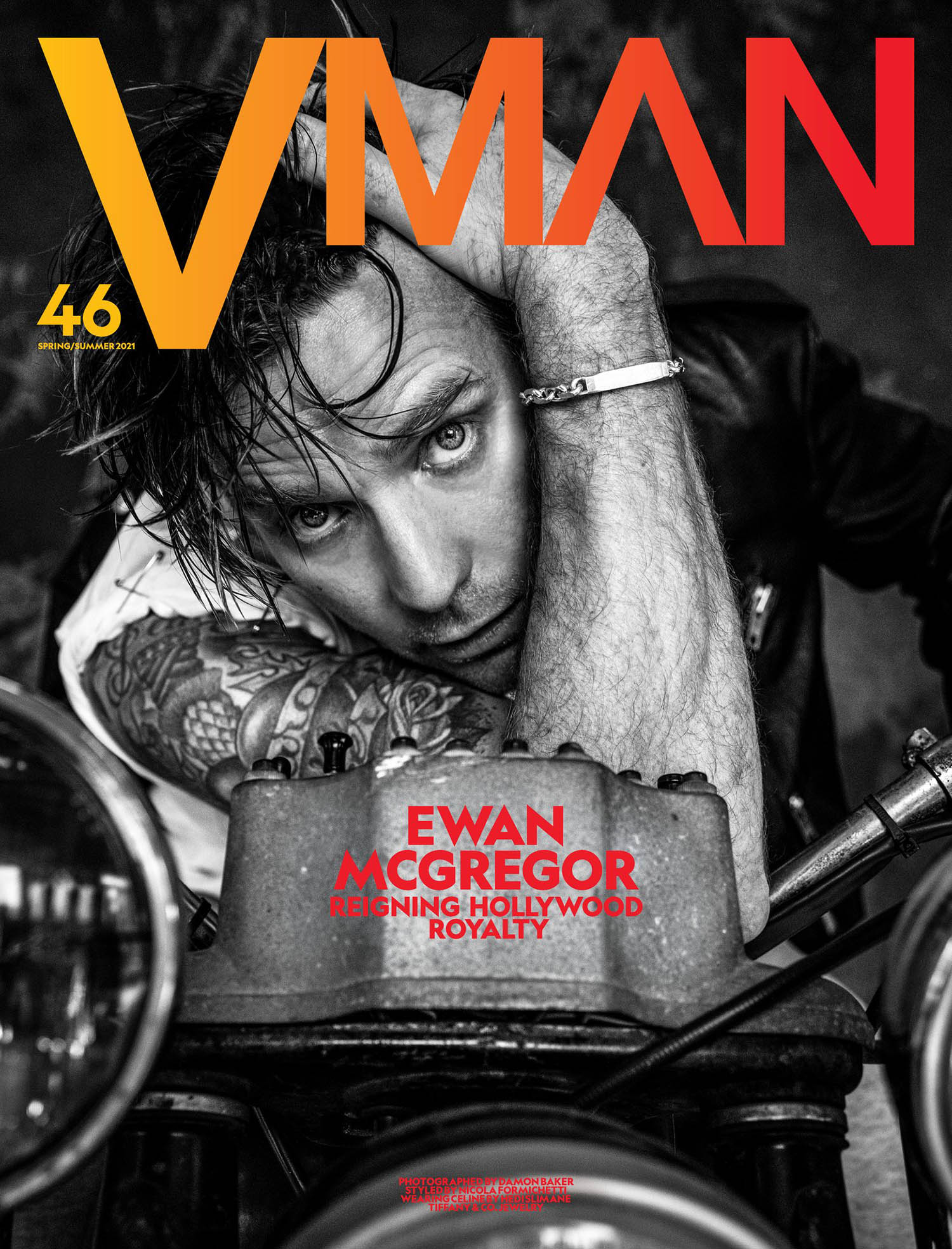Ewan McGregor covers VMan Spring Summer 2021 by Damon Baker