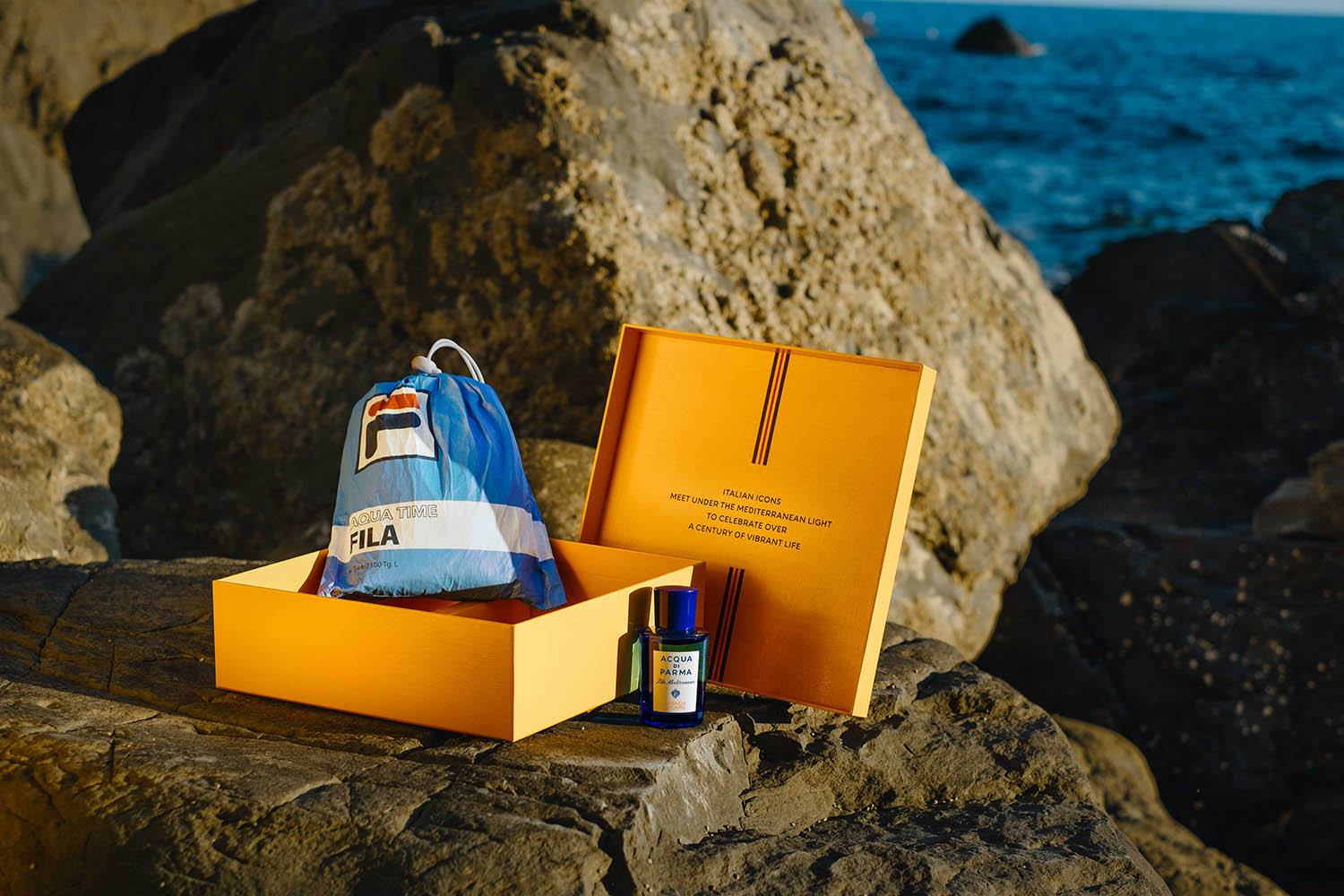 Fila teams with Acqua di Parma on a limited-edition set