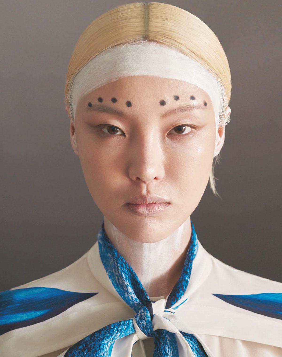 Gia Tang by Ming-Shih Chiang for Harper's Bazaar Taiwan May 2021