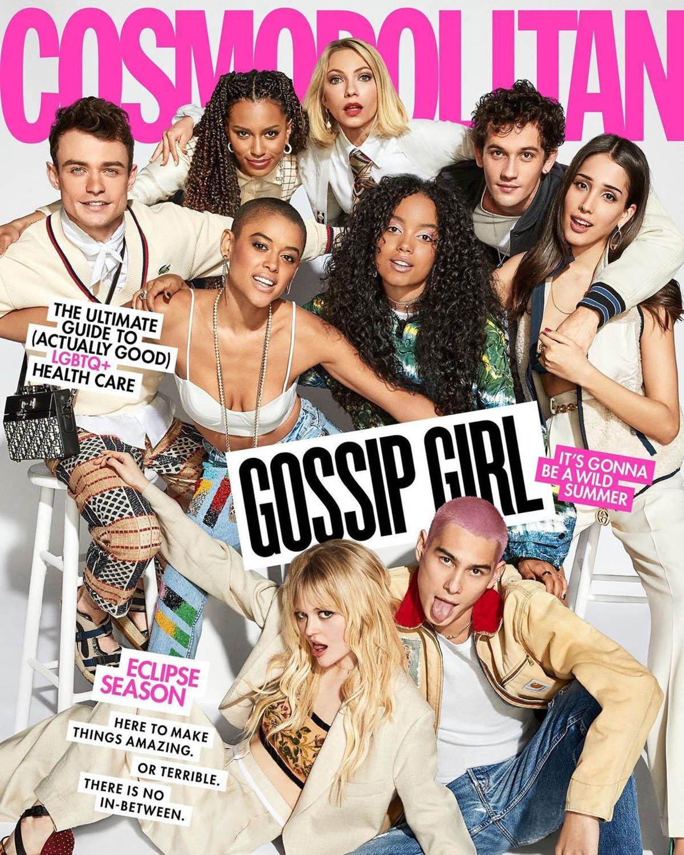 ''Gossip Girl'' reboot cast covers Cosmopolitan US May/June 2021 by Ben Watts
