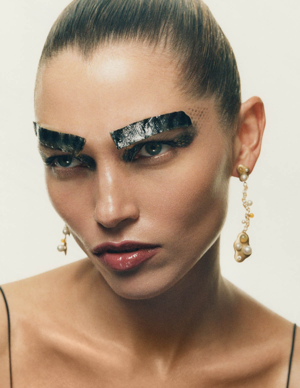 Hana Jirickova by Dan Martensen for Vogue Germany May-June 2021