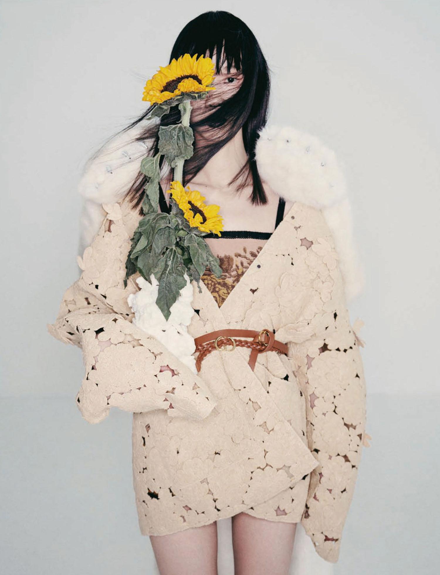 Huan Zhou by Hsu Hsiao Wei for Elle Taiwan April 2021