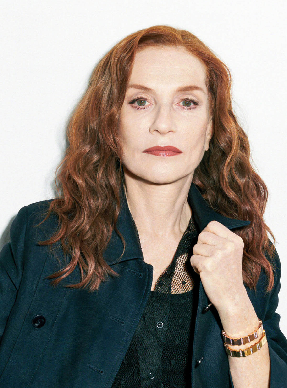Isabelle Huppert covers Vanity Fair France May 2021 by Katja Rahlwes