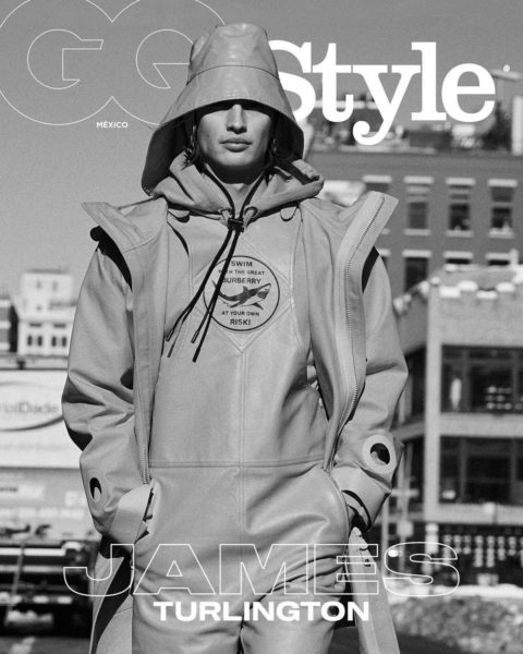 James Turlington covers GQ Style Mexico & Latin America Spring Summer 2021 by David Roemer