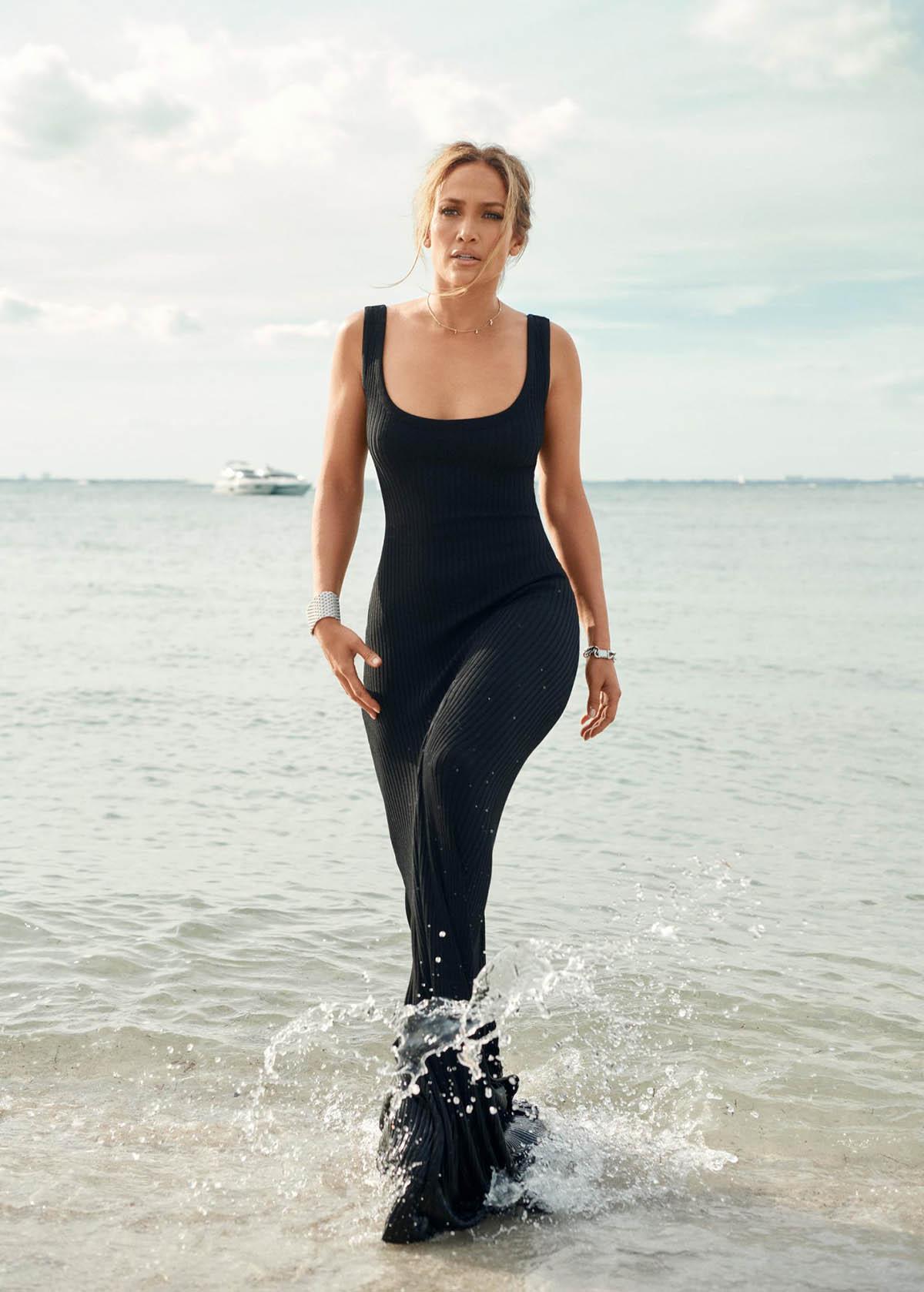 Jennifer Lopez covers InStyle US May 2021 by Pamela Hanson