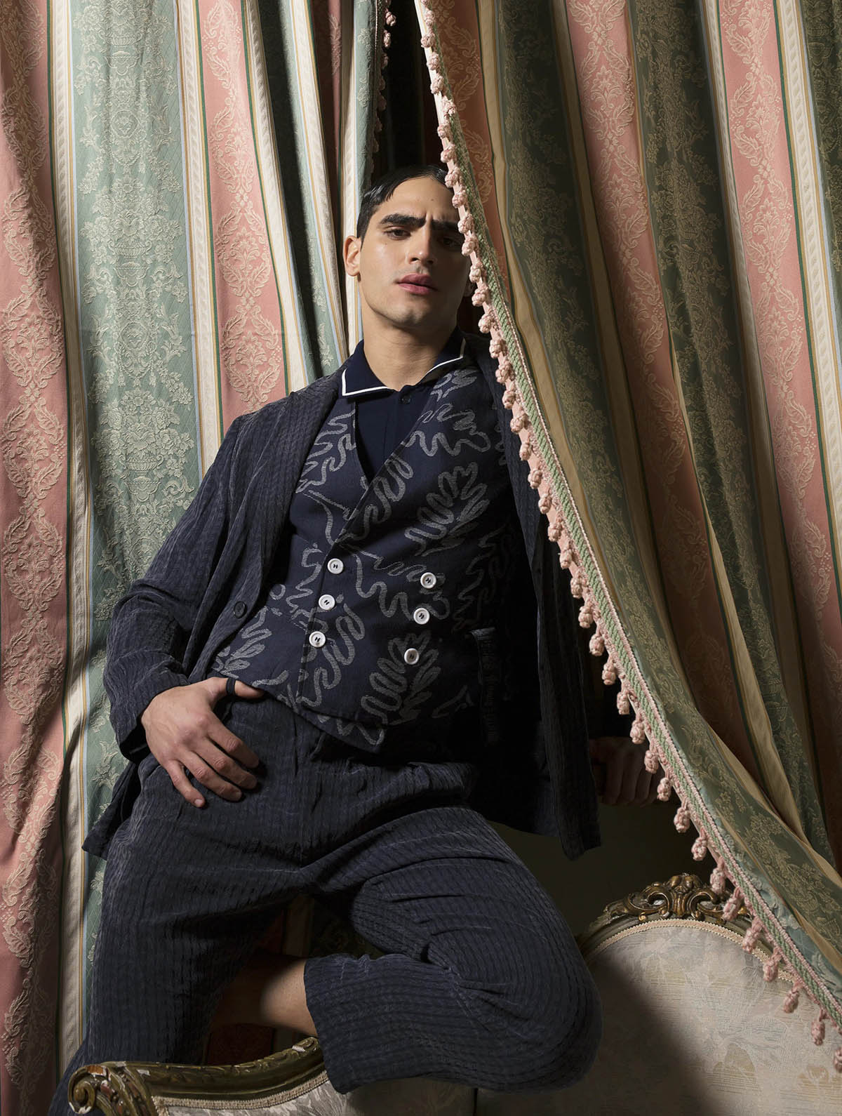 Jhona Burjack by Saverio Cardia for L'Officiel Hommes Italia Issue 26