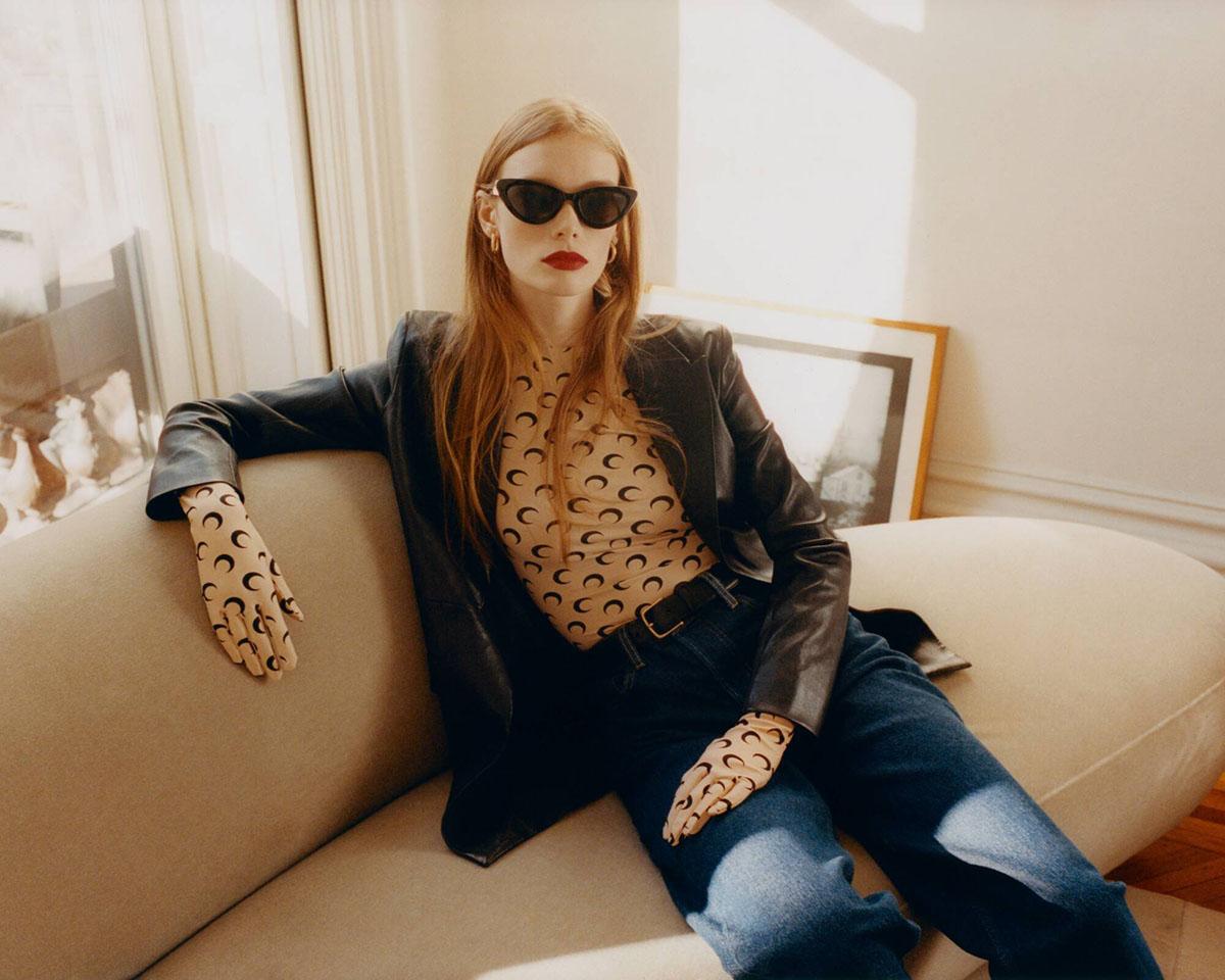 Julia Hafstrom by Jens Ingvarsson for Elle US April 2021