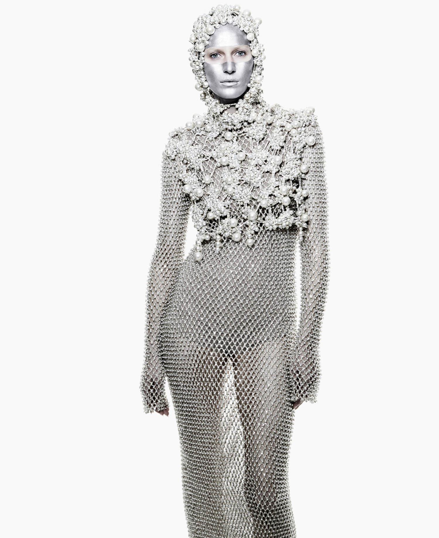 Julia Nobis by Daniel Jackson for Harper's Bazaar US May 2021
