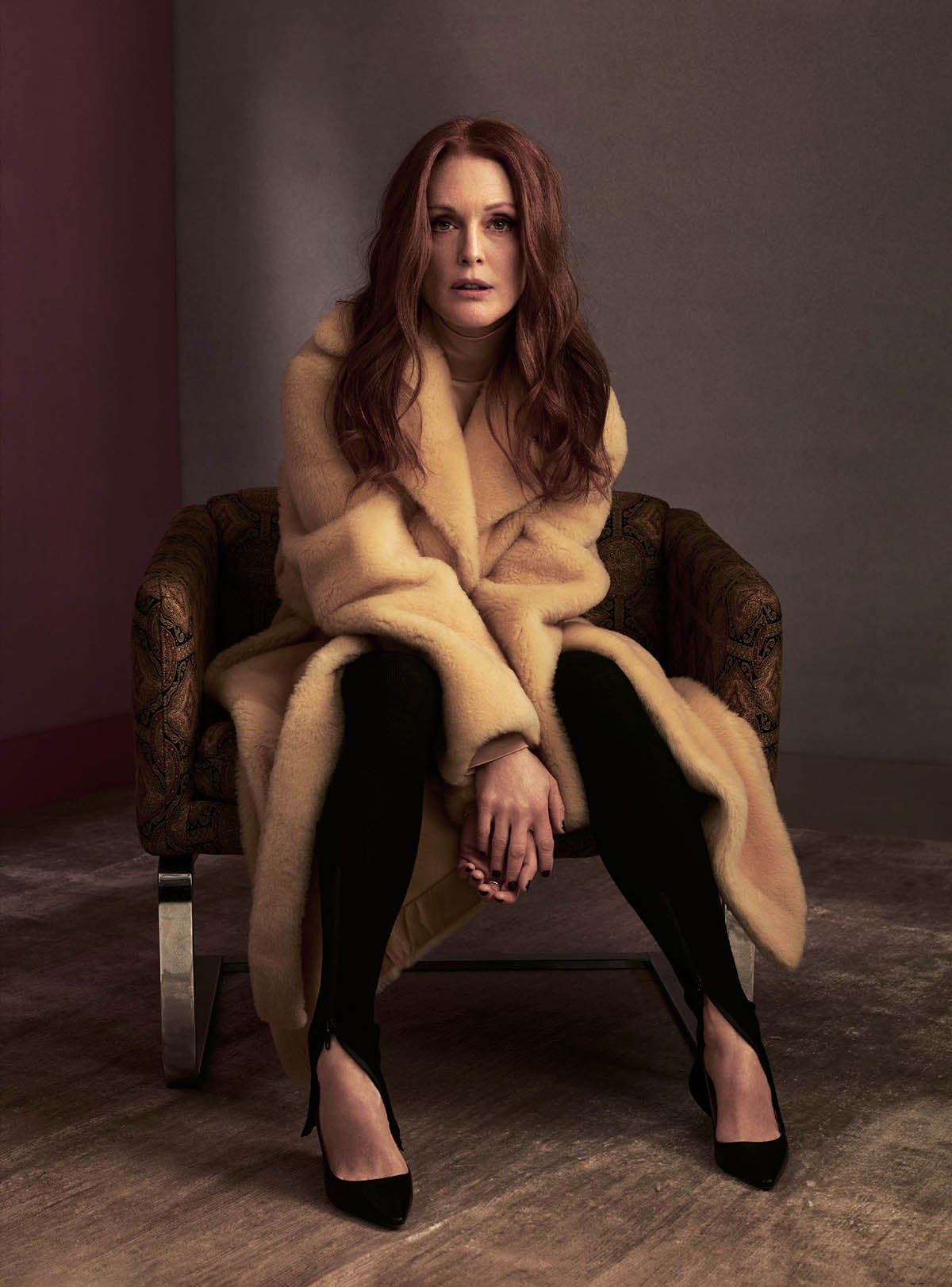 Julianne Moore covers The Sunday Times Style May 30th, 2021 by Craig McDean