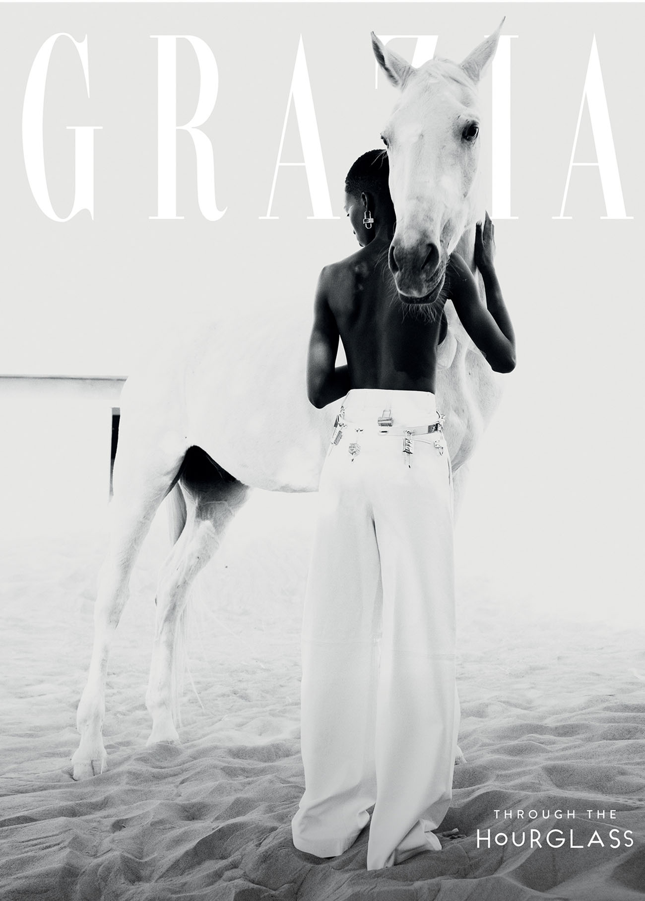 Kristine Angeshi covers Grazia International Issue 9 2021 by Paul Morel