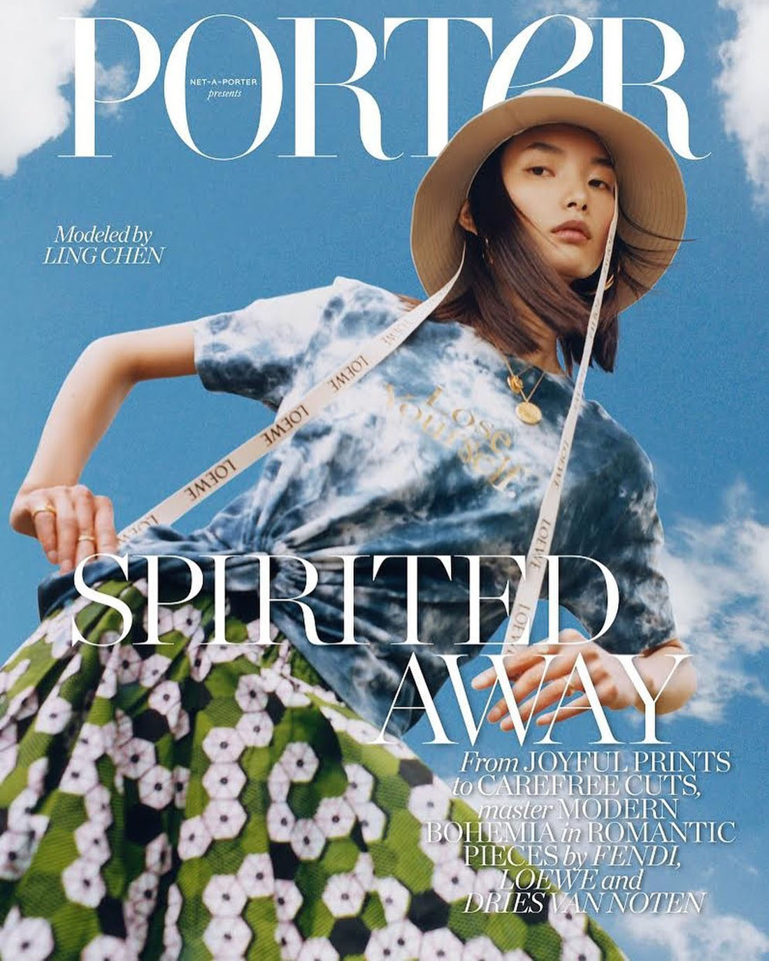 Ling Chen covers Porter Magazine May 17th, 2021 by Juliette Cassidy