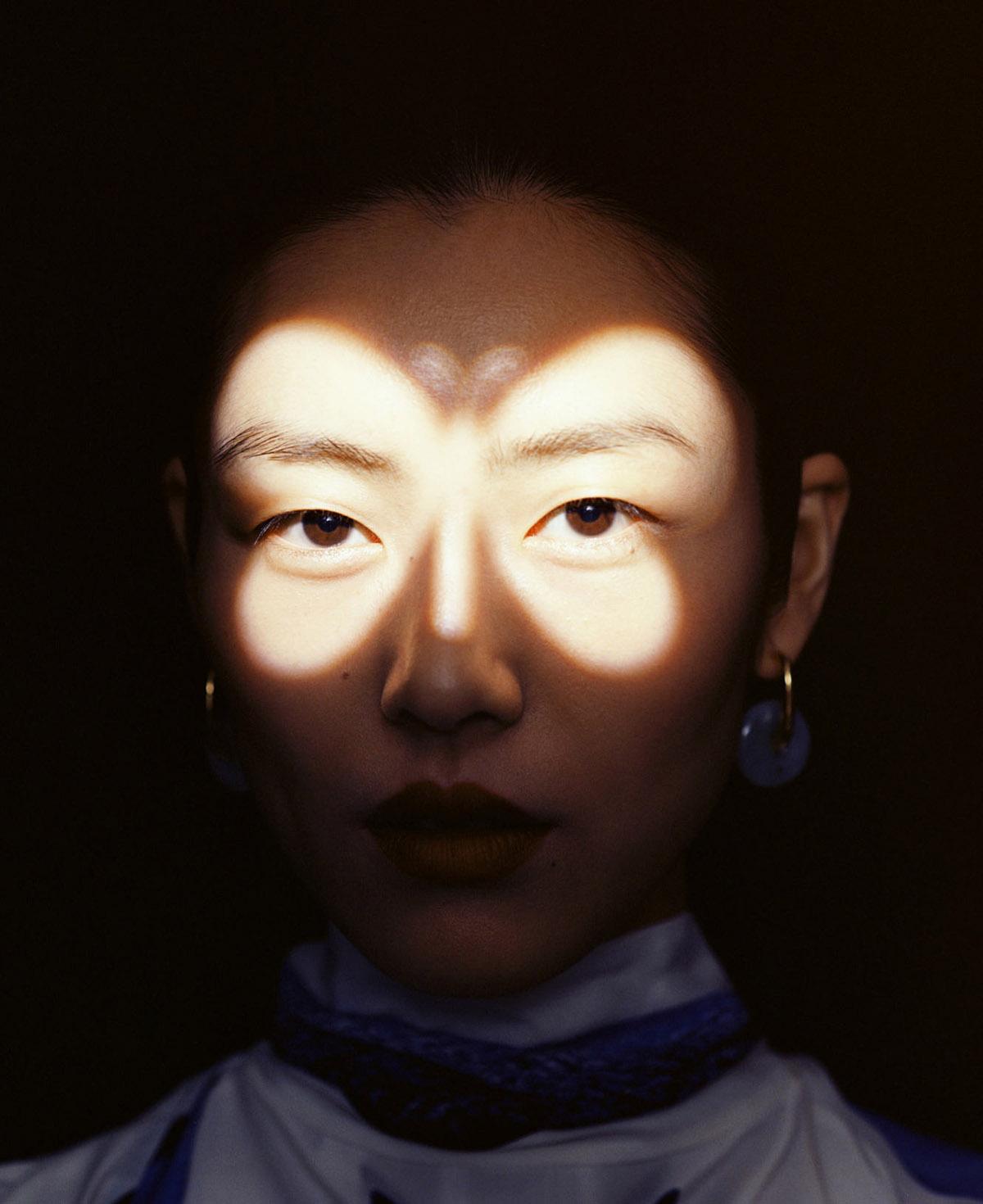 Liu Wen covers Harper's Bazaar US May 2021 by Leslie Zhang