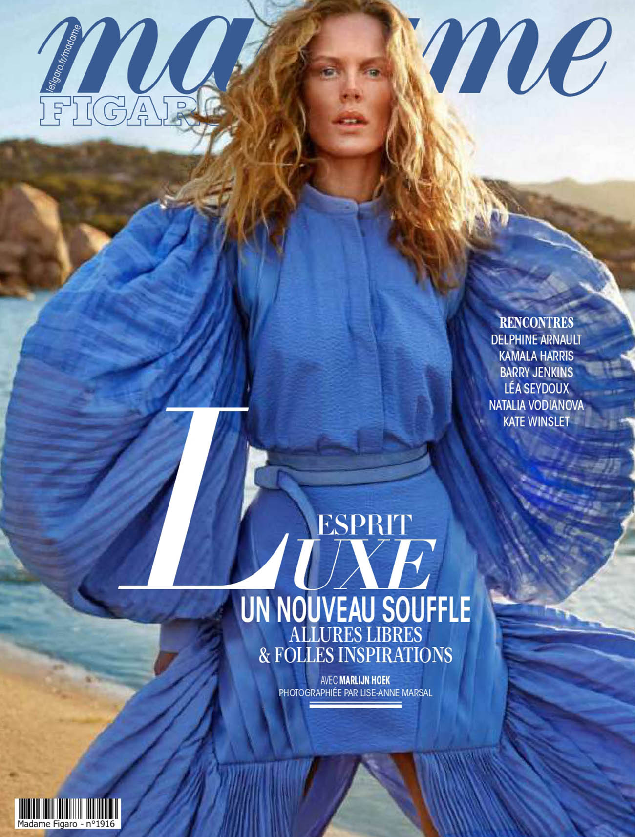 Marlijn Hoek covers Madame Figaro May 14th, 2021 by Lise-Anne Marsal