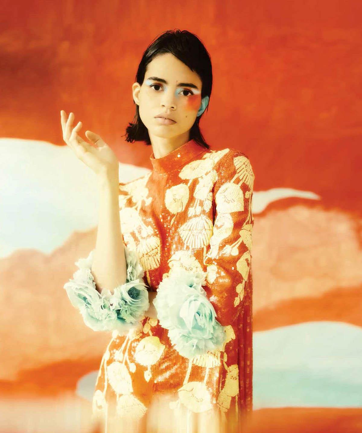 Mariana Santana by Ilaria D'Atri for Harper's Bazaar Mexico & Latin America May 2021
