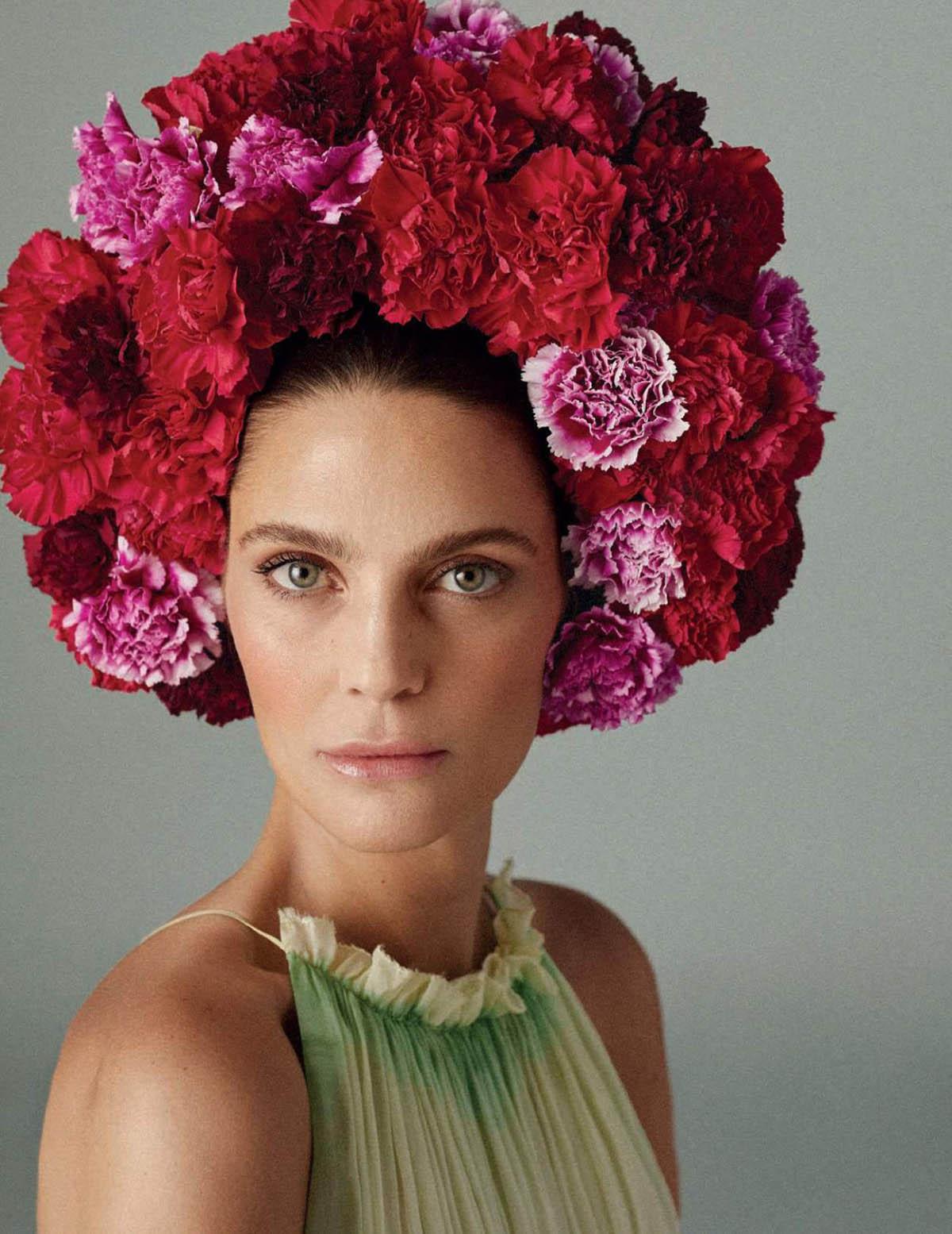 Marina Pérez covers Harper's Bazaar Spain May 2021 by Xavi Gordo