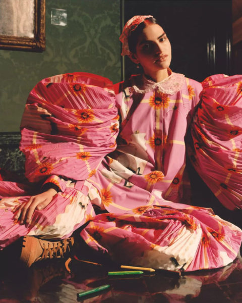 Merjem Cengic by Jamie Hawkesworth for British Vogue May 2021