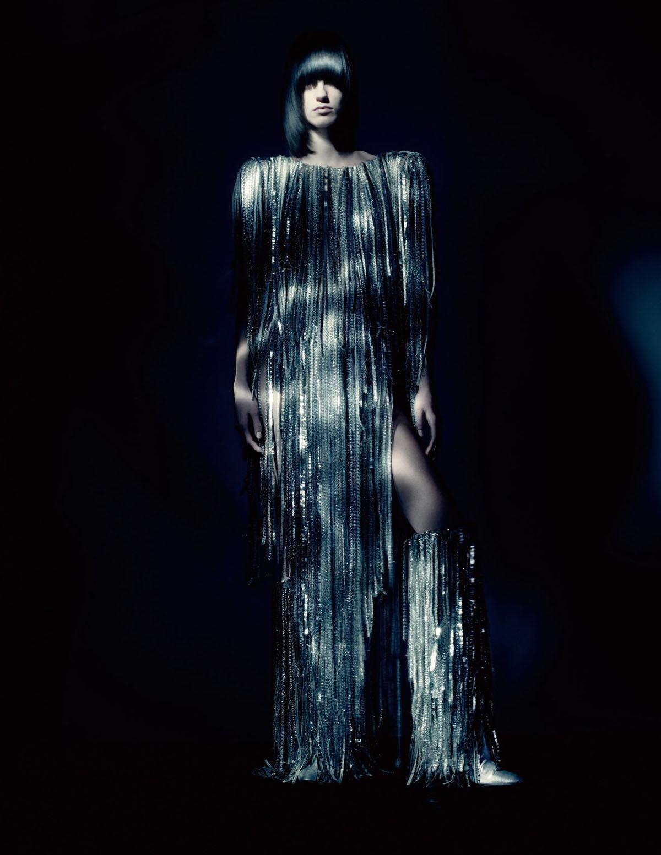 Miriam Sanchez and Malika Louback by Paolo Roversi for Vogue Paris May 2021