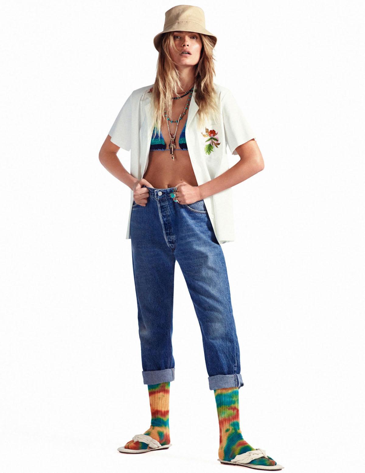 Natasha Poly by Mark Kean for Vogue Paris May 2021