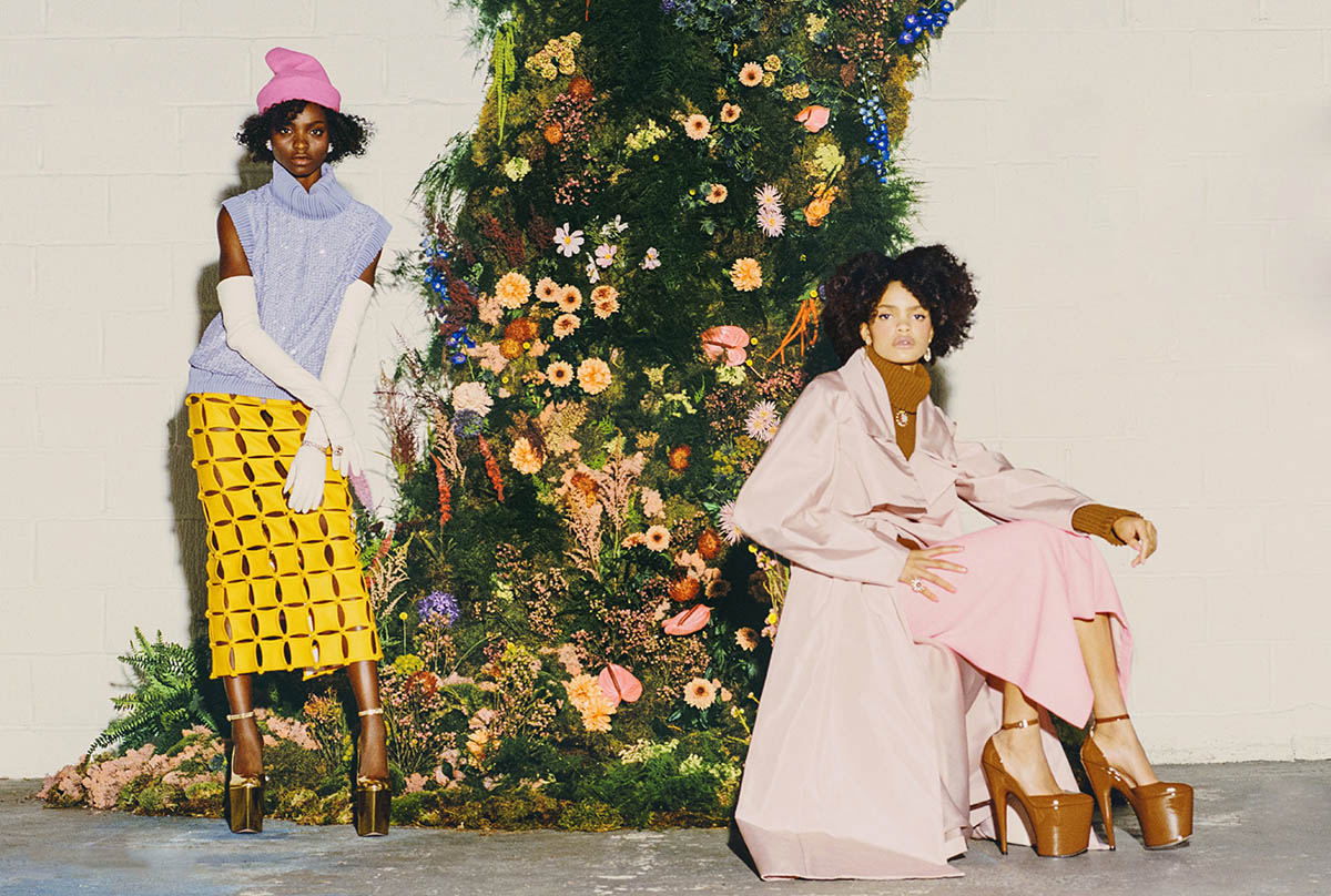 Olamide Ogundele and Carla Pereira by Danny Kasirye for Town & Country May 2021