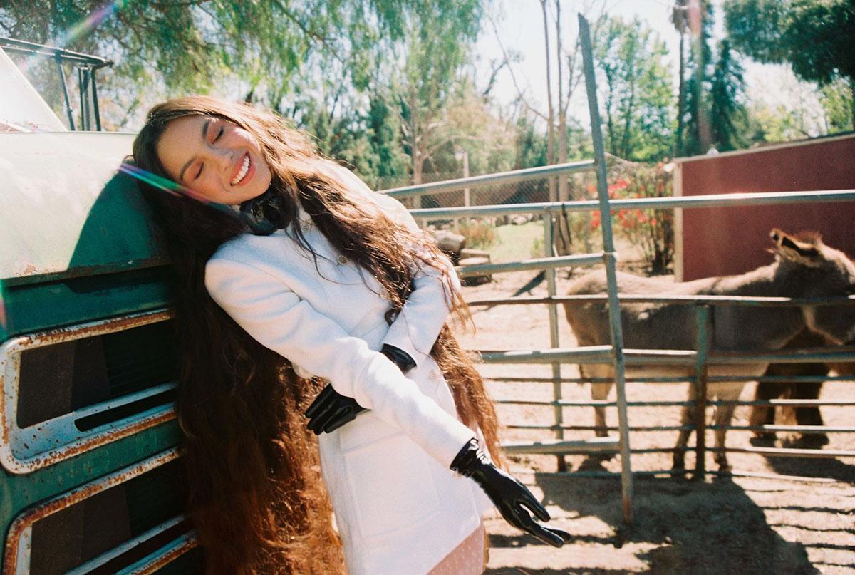 Olivia Rodrigo covers Elle US May 2021 by Petra Collins