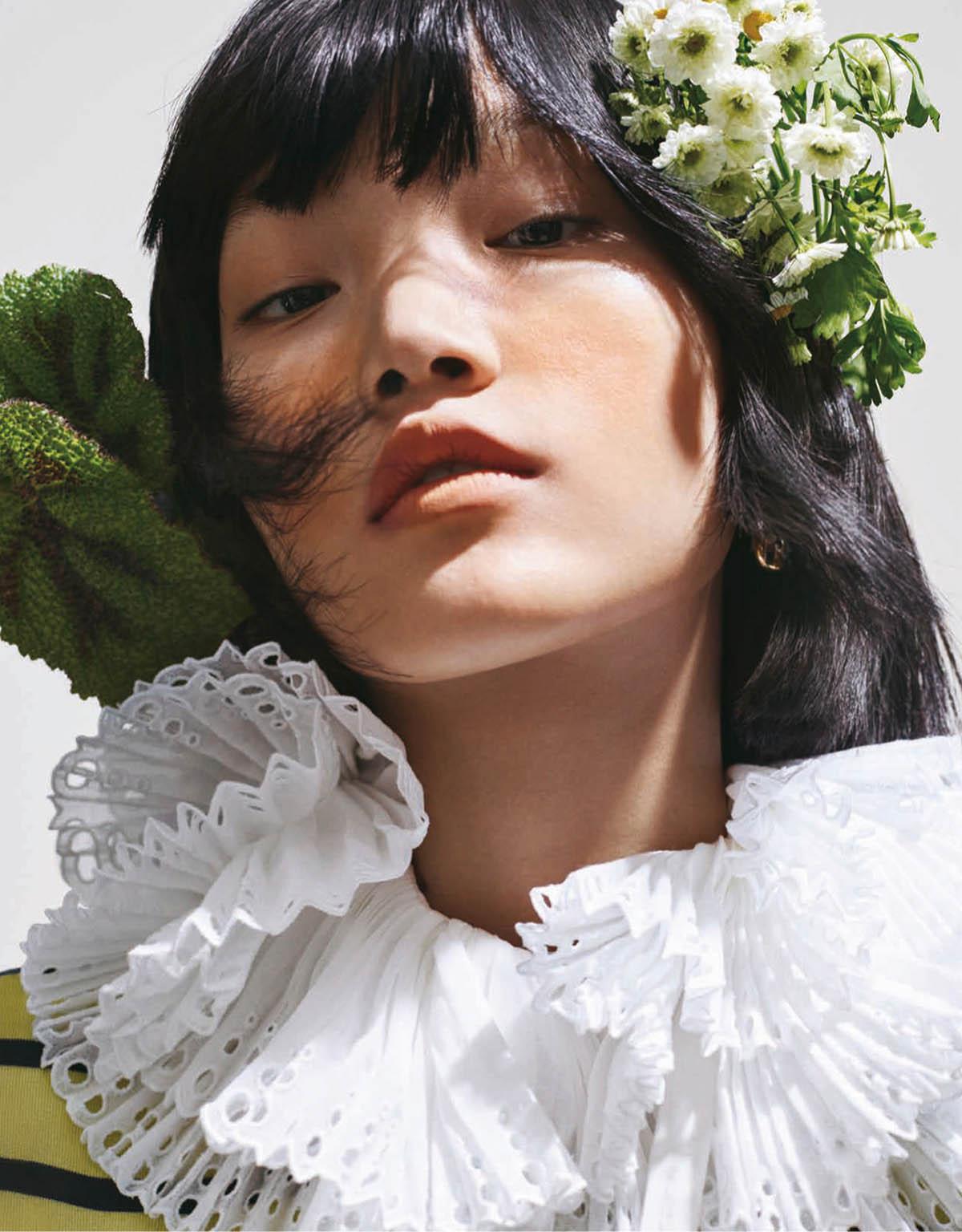 Pan Haowen by Xiao Gun for Elle Taiwan February 2021