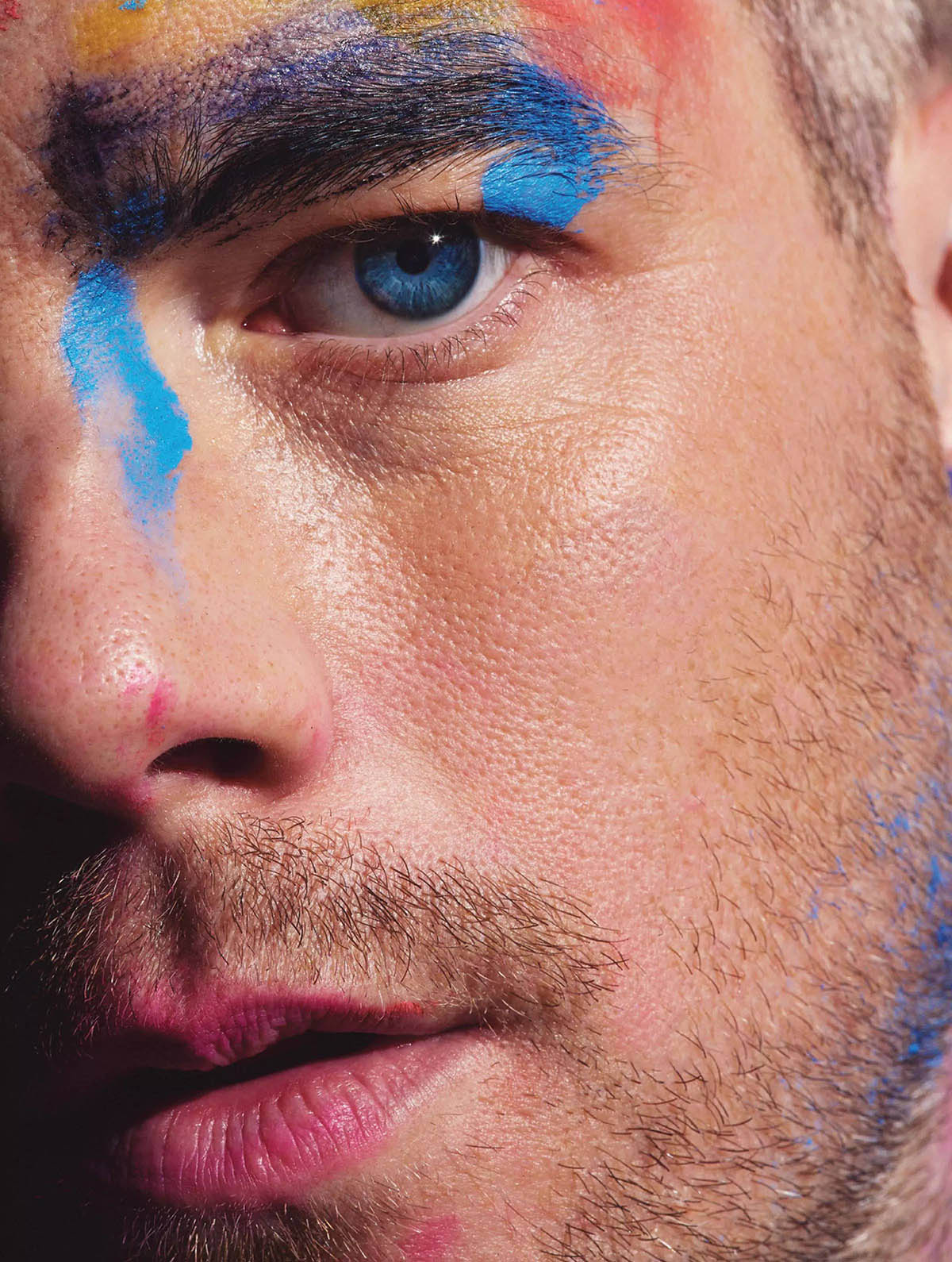 Russell Tovey covers Attitude Magazine May 2021 by Mark Cant
