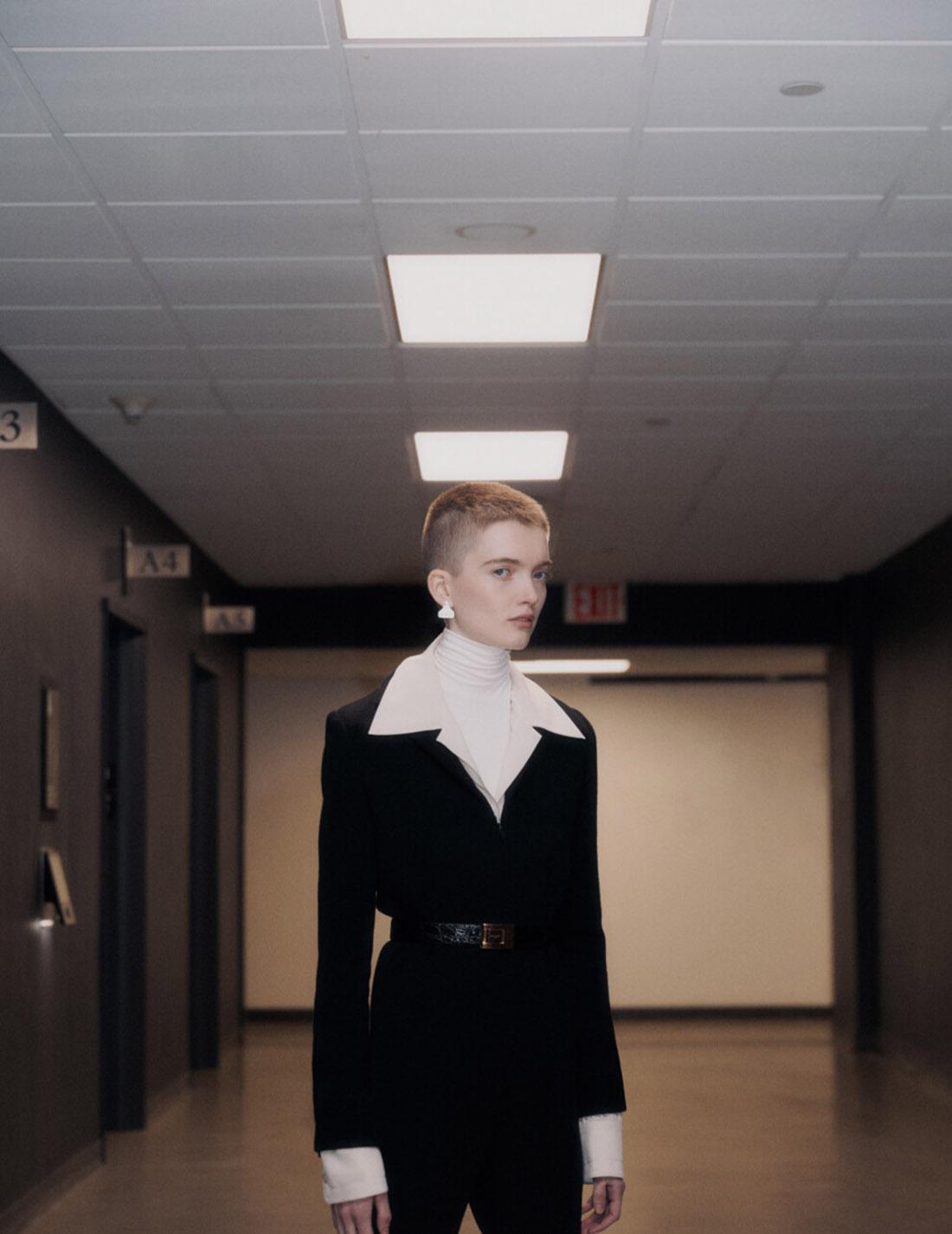 Ruth Bell covers Vogue Ukraine April 2021 by Nagi Sakai