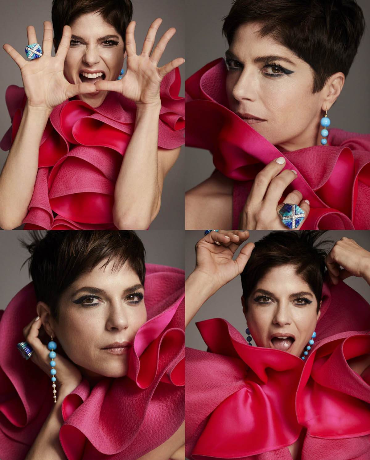 Selma Blair covers Town & Country May 2021 by Alexi Lubomirski
