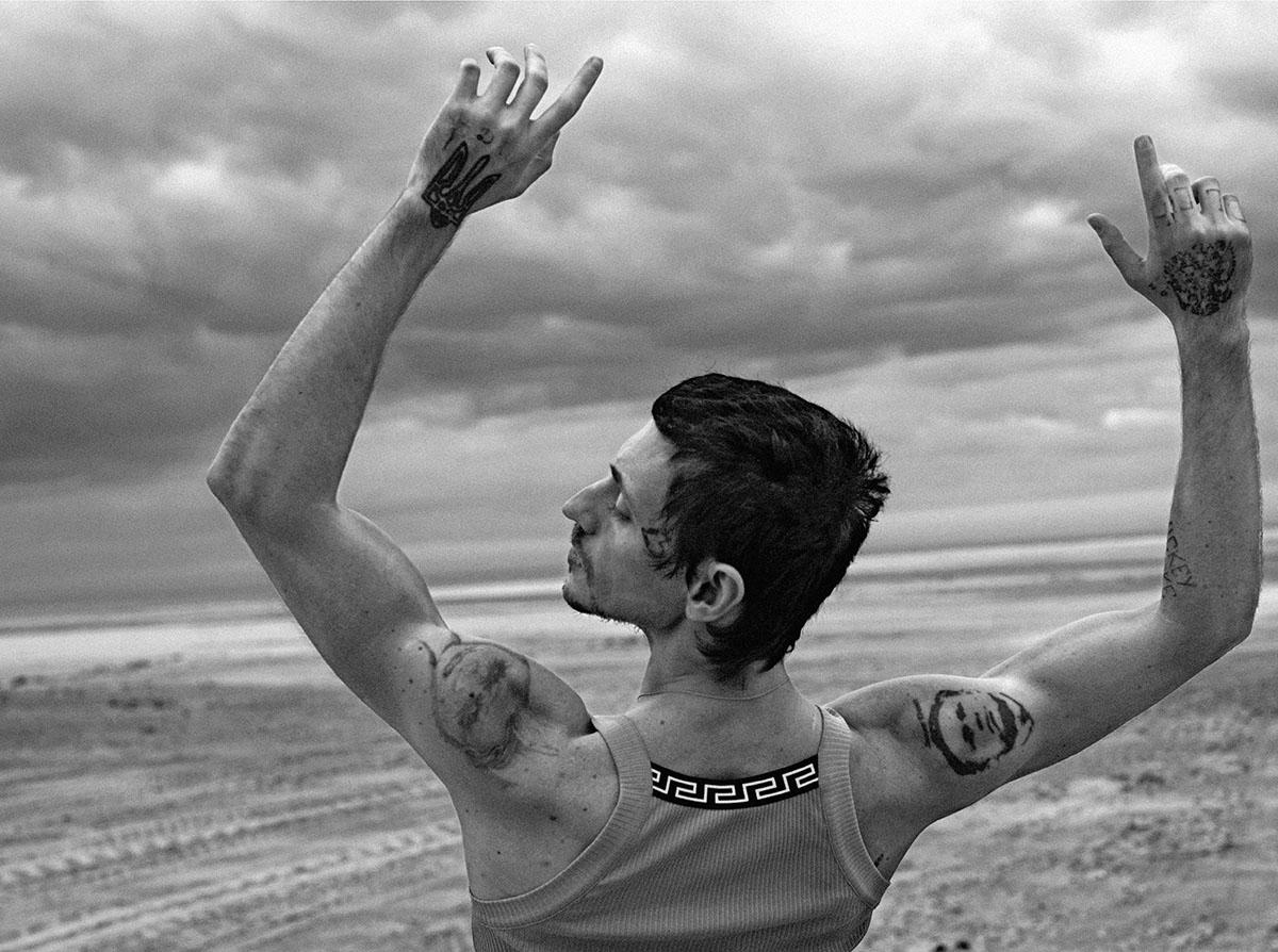 Sergei Polunin covers Icon Italia ''10th Anniversary Issue'' by Anton Corbijn