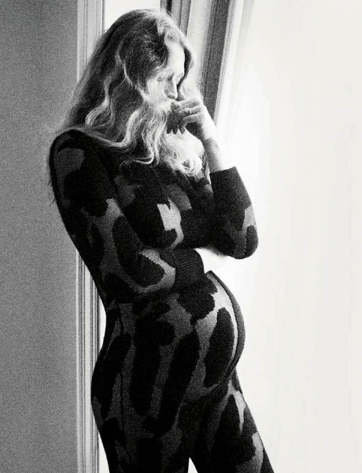 Toni Garrn covers Vogue Germany May June 2021 by Camilla Akrans