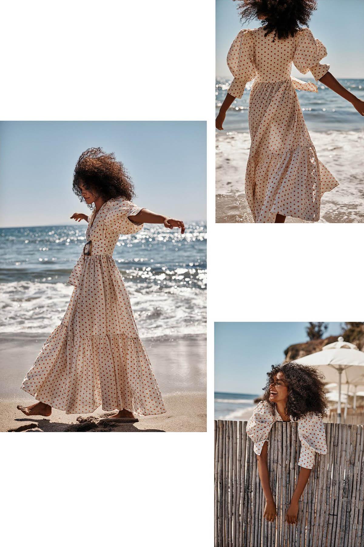 Vanessa Ouma by Colette de Barros for Red Magazine UK June 2021