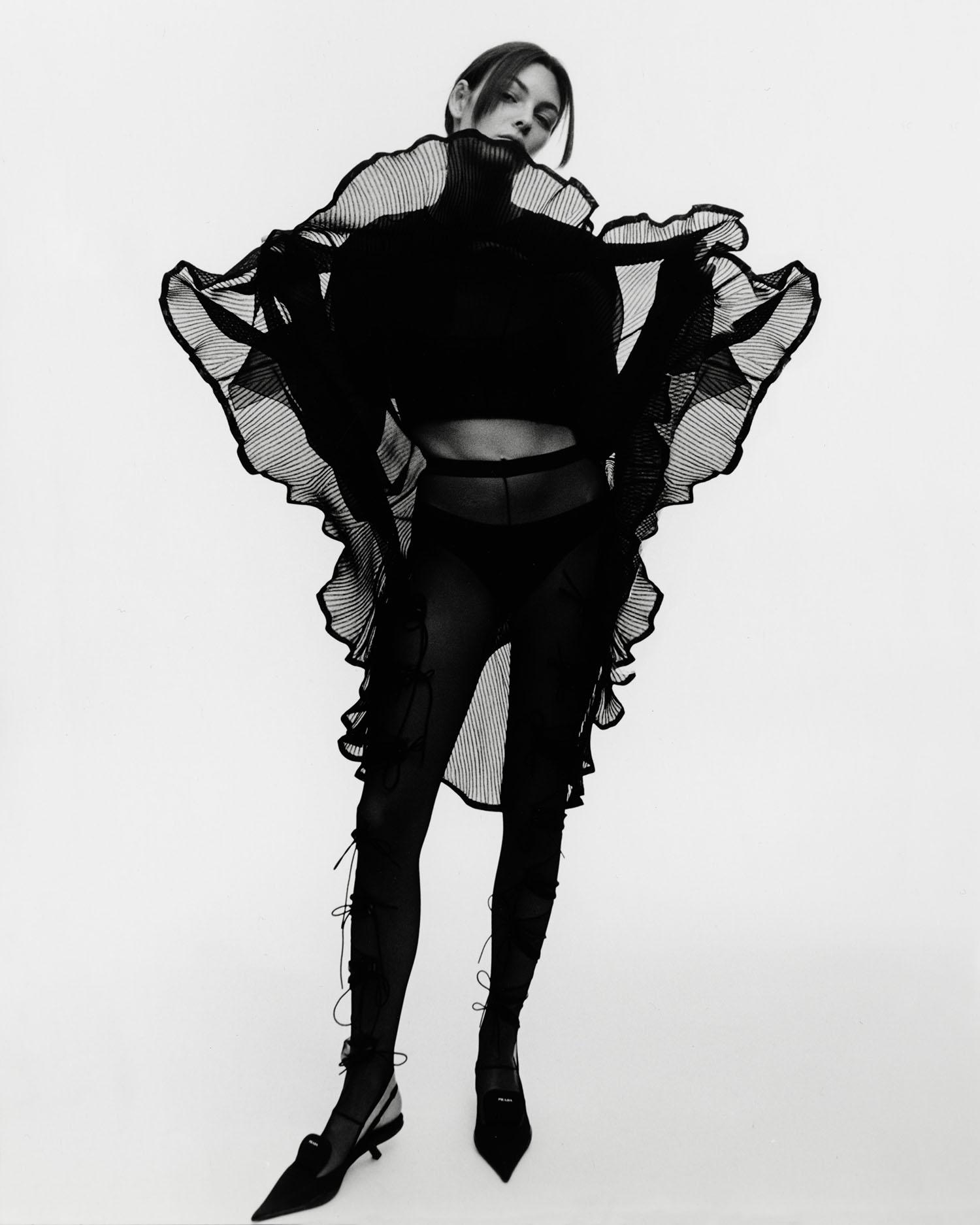 Vittoria Ceretti by Drew Vickers for Vogue Italia May 2021