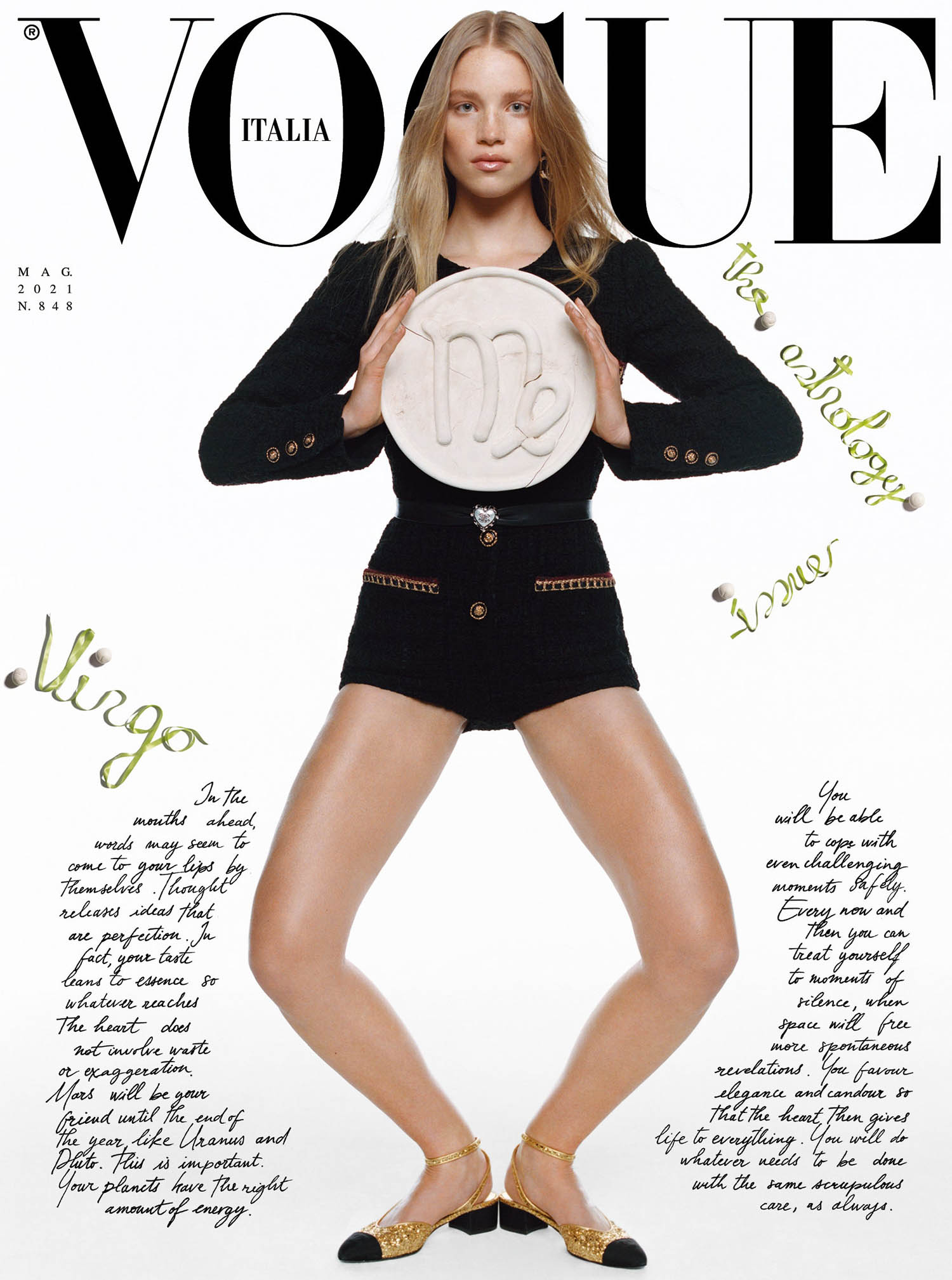 Vogue Italia May 2021 covers by Oliver Hadlee Pearch