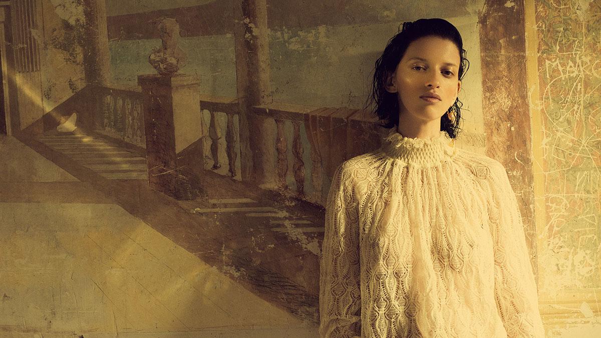 Alina Mikheeva by Paul Morel for Grazia International Issue 9 2021