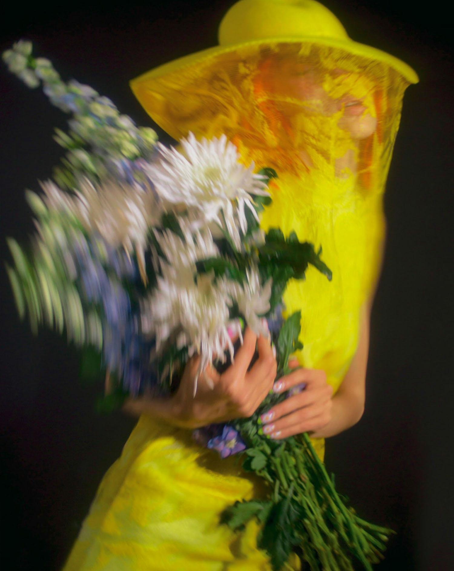 Anastasiya Gurova by Paul Rousteau for Marie Claire France June 2021