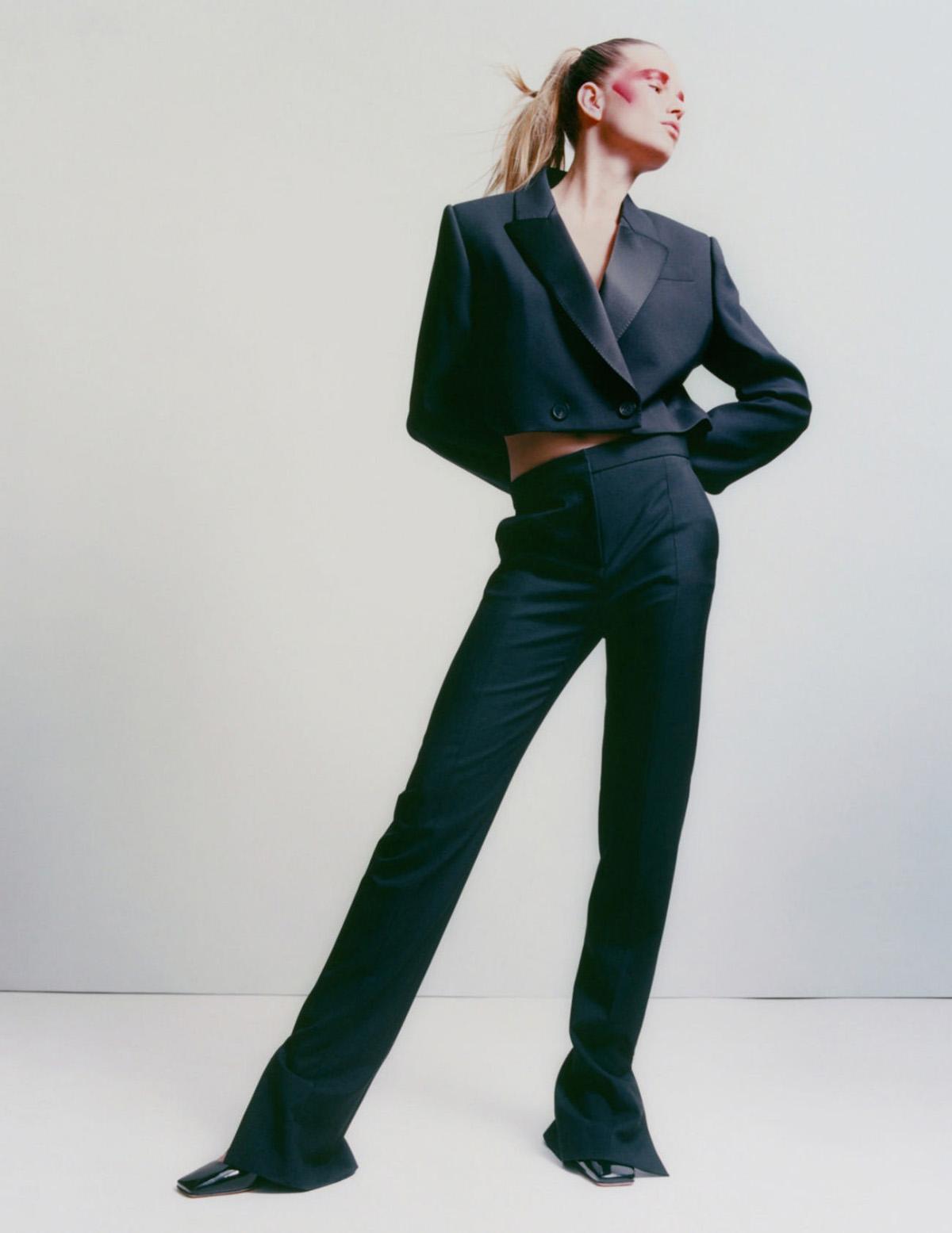 Anna Ewers by Sam Rock for Vogue Paris June-July 2021