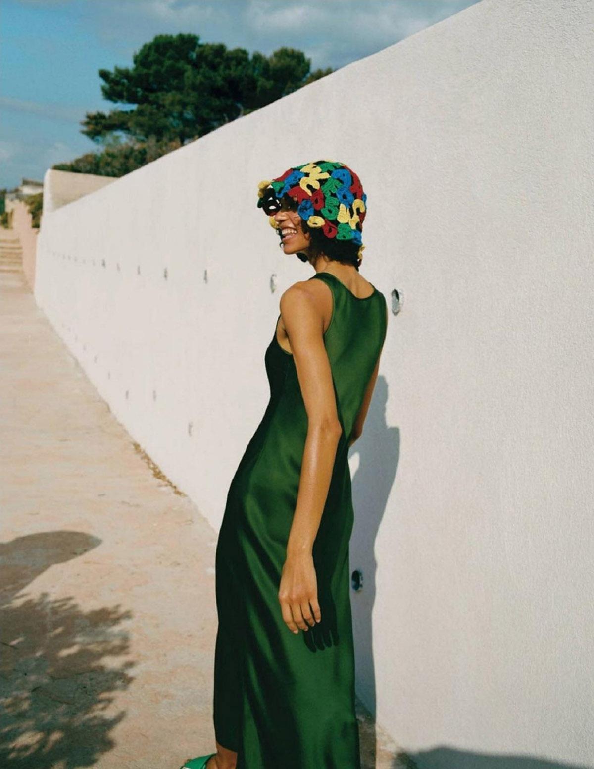 Barbara Valente by Cornelius Käss for Vogue Russia June 2021