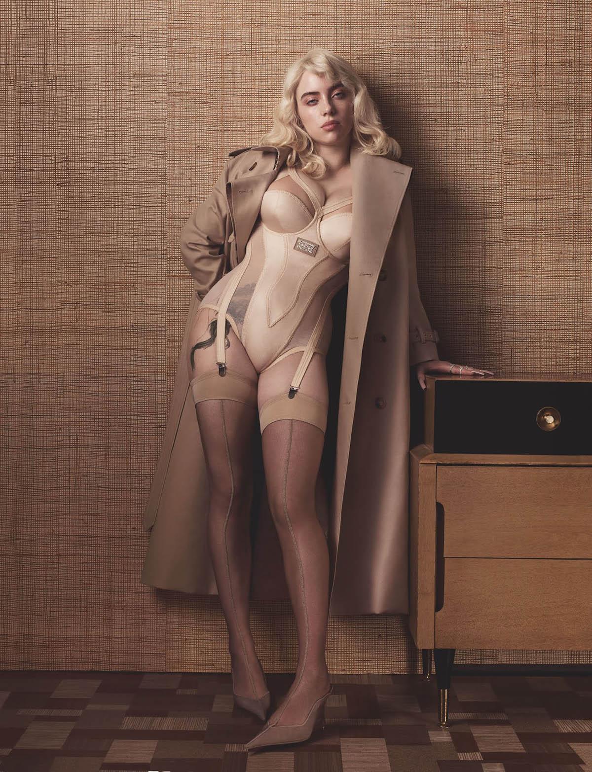Billie Eilish covers British Vogue June 2021 by Craig McDean